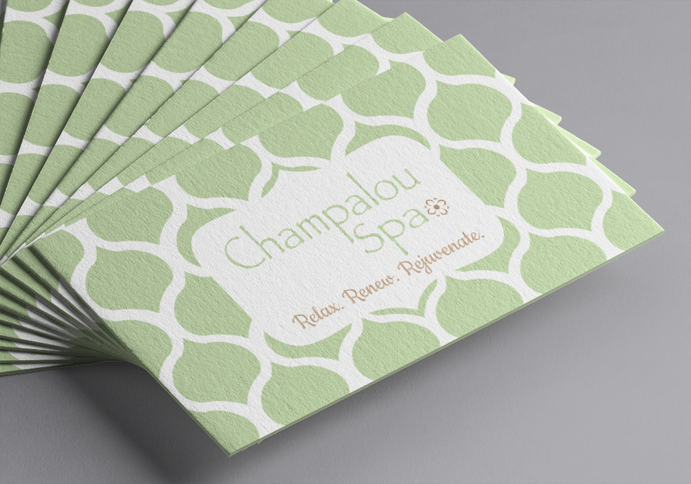 champalou spa business cards zoomed-in