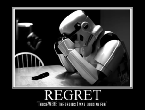 storm trooper regret meme for growth driven design