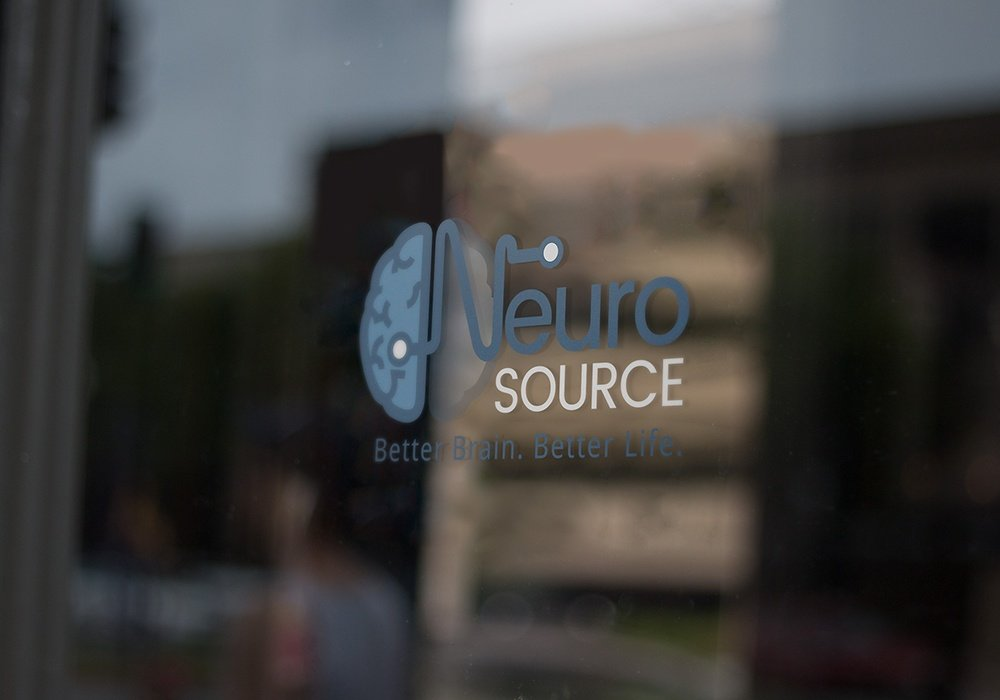 Neurosource Logo on Door