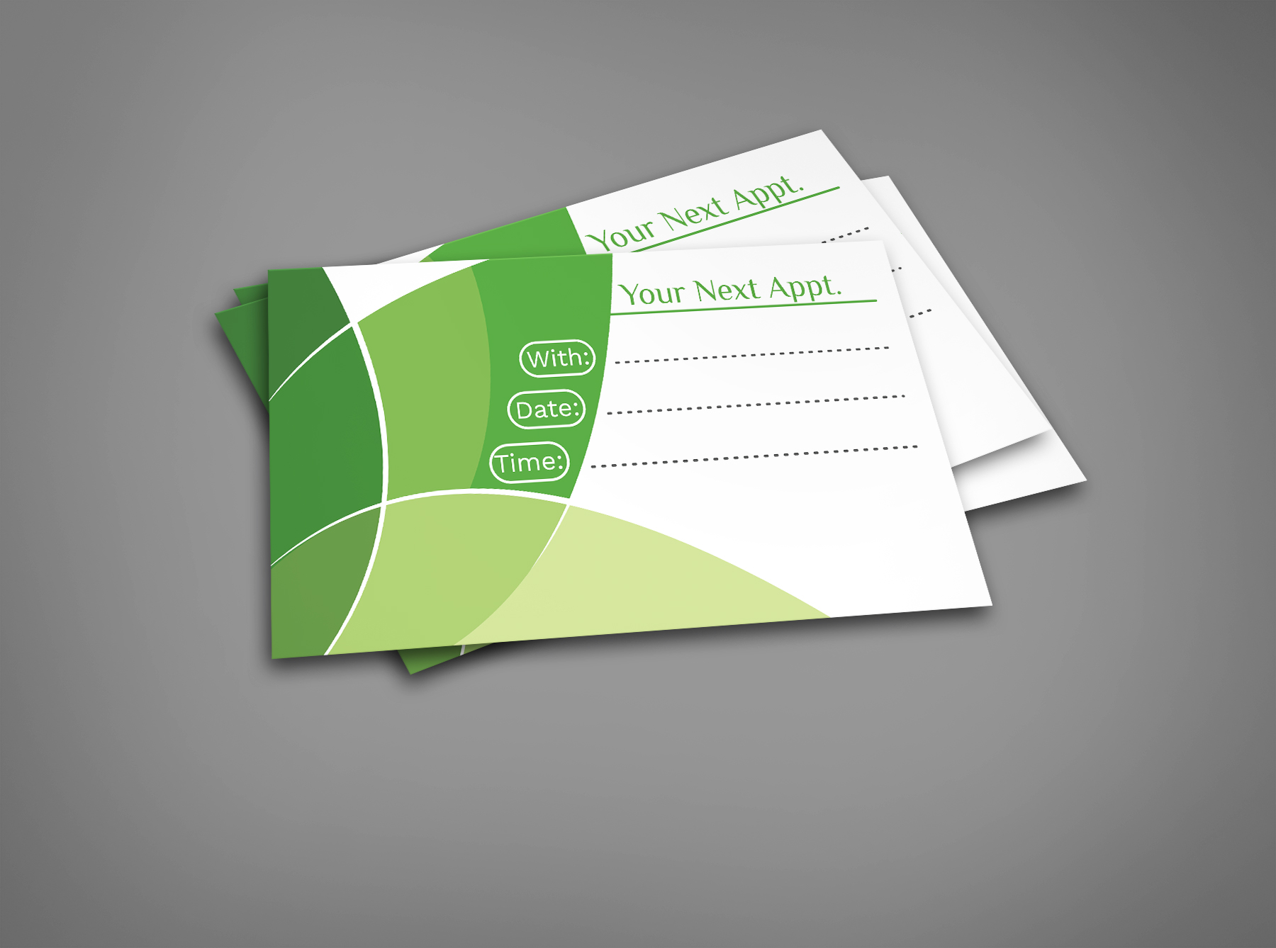 JNT Business Cards Next Appointment