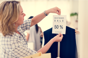 Woman-Checking-Out-Sale