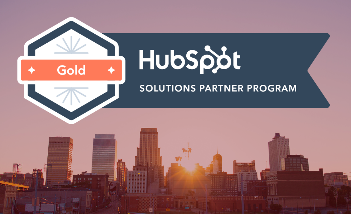 Sauce Marketing is a HubSpot Gold Certified Agency Partner