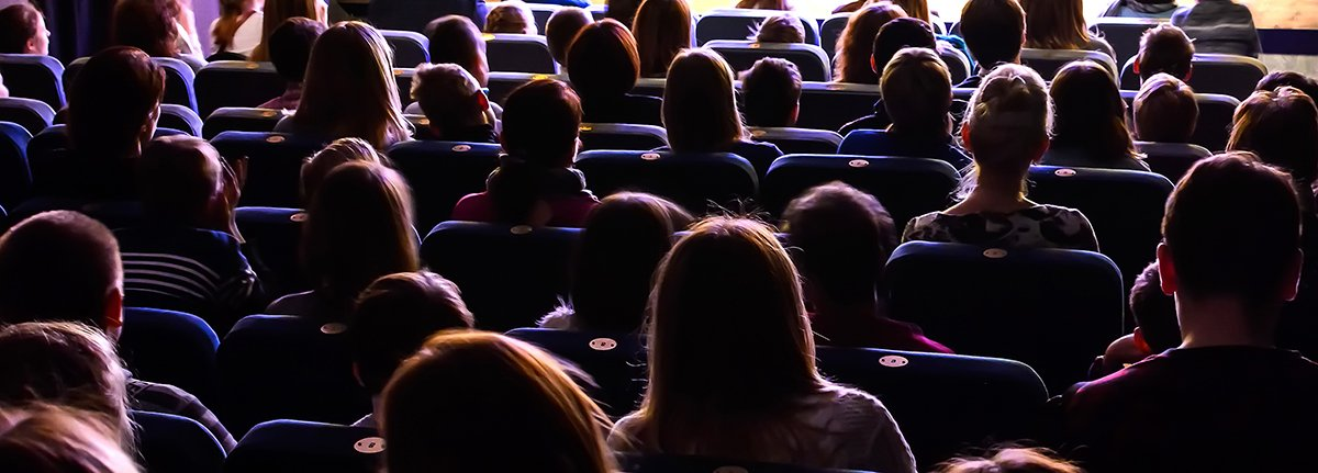 understanding your why people in a movie theater
